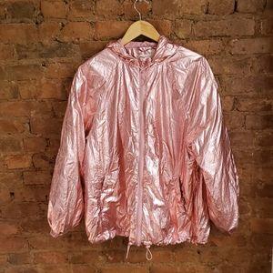 H&M Shimmering Metallic Pink jacket